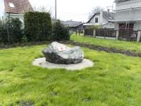 Rapotín – Povodňový kámen