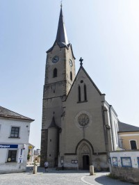 Mohelnice - rozhledna ve věži