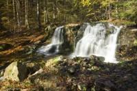 Poniklý potok - vodopády