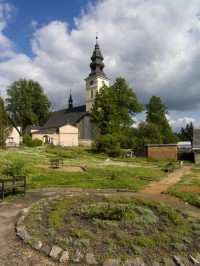 Staré Město p. Sněžníkem - kostel sv. Anny