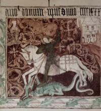 Freska sv. Jiří