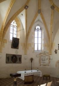 Oltářní část