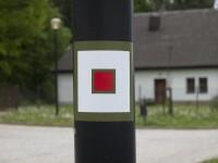 Červenou značku na trase nenajdete