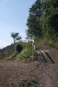 Upravená přístupová cesta