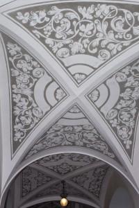 Sgrafitový strop