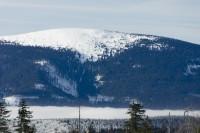 Lavinový svah na Sněžníku