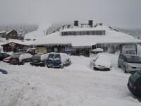 Chata Skiklubu s pokladnami