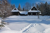 Zima v Dolní Moravě