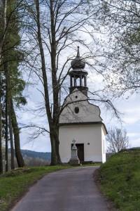 Vysoký Potok - kaple Panny Marie Růžencové