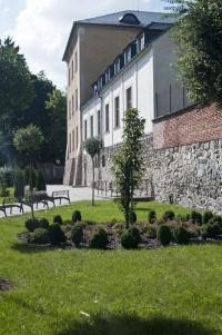 Šumperk - park pod hradbami