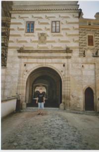 Vstupní brána hradu a zámku