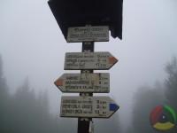 2 kilometry pod vrcholem.