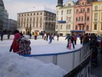 Bruslení na Olomouckém náměstí 1.