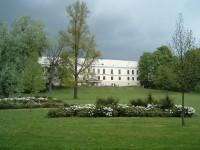 Fryštát - zámek ze zahrady