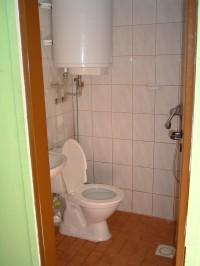 Stylová chatka - koupelna