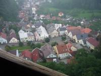 výhled na Štramberk z Trúby