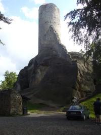 hrad Frýdštejn..
