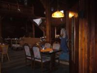 vnitřní interiér restaurace..