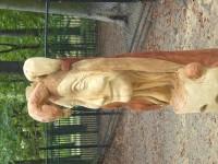 krásné sochy v ZOO