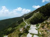 Lučné sedlo ve Vysokých Tatrách