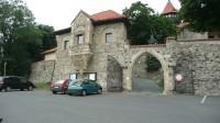 Vstupní brána hradu Hněvín