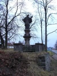 Velvary - Socha sv. Jana Nepomuckého