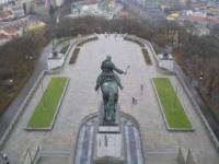 Vyhlídková terasa na Národním památníku na Vítkově