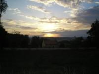 Podvečerní výhled z Makové hory
