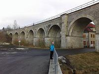 Železniční viadukt v Rychnově u Jablonce nad Nisou