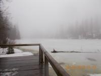 Zimní výšlap k jezeru Laka