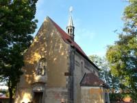 Kostel Stětí svatého Jana Křtitele v Dolních Chabrech