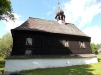 Klepáčov - dřevěná kaple svatého Jana Nepomuckého