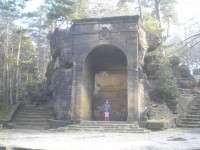 Salla terrana na vyhlídce Belveder