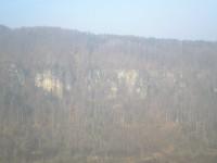 Výhled z vyhlídky Belveder