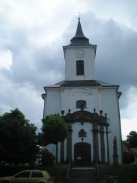 Vysoké nad Jizerou - kostel