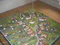 Model obce z poloviny 19. století
