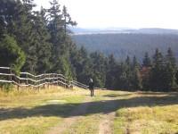 Stoupání na Klínovec