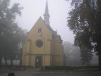 Kostel sv. Floriána v Lázních Toušeň