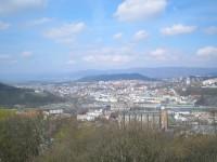 Krušné Hory ze Střekovské vyhlídky
