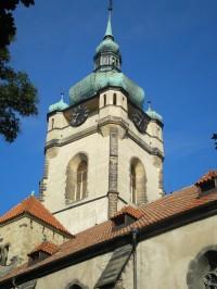 Věž chrámu sv. Petra a Pavla