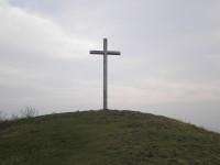 Železný kříž na vrcholu