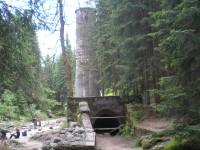 Jizerka - protržená přehrada - Desná