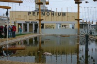 Vstup do Permonia s Důlním jezerem a Pavoučí pastí