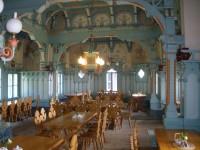 Interiér restaurace Libušín