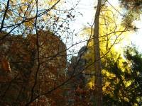 Podzimní skalní město