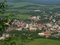 pohled na Českou Kamenici