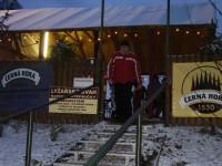 Vchod do areálu zjazdovky