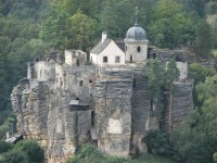 hrad ze zhora