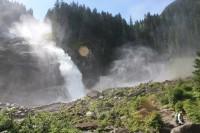 Krimmelské vodopády-nejlepší sprcha