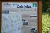 Pecka je součásti Mikroregionu Čebínka